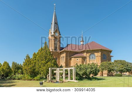 Warden, South Africa - May 1, 2019: The Dutch Reformed Church, In Warden, In The Free State Province