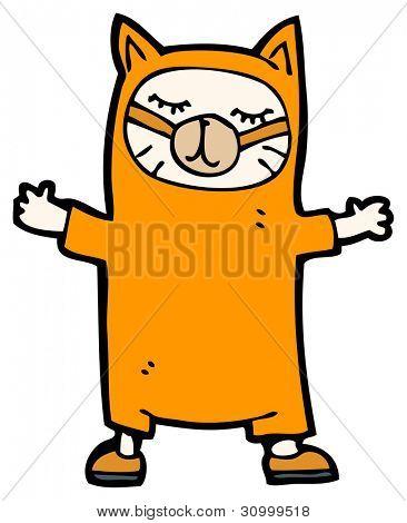 cat costume poster