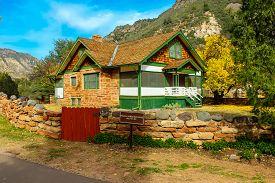 Pendley Homestead House Built In 1927 In Slide Rock State Park In Sedona Arizona - November 4, 2018