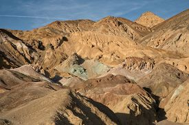 Artist's Palette In The Death Valley National Park Usa