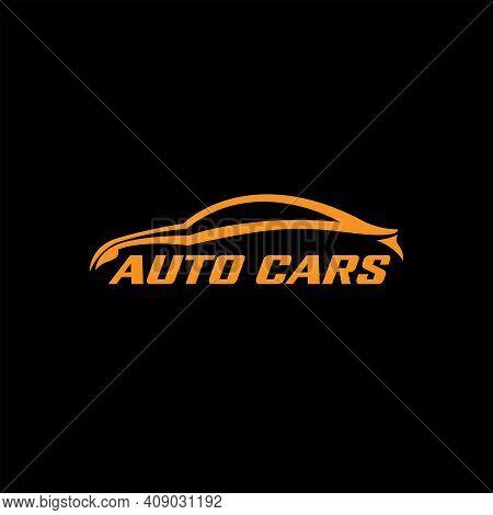 Car Design Logo Vector. Car Illustration Logo Transportation