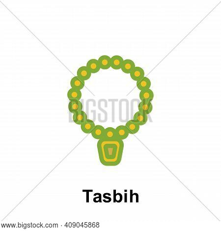 Ramadan Tasbih Outline Icon. Element Of Ramadan Day Illustration Icon. Signs And Symbols Can Be Used