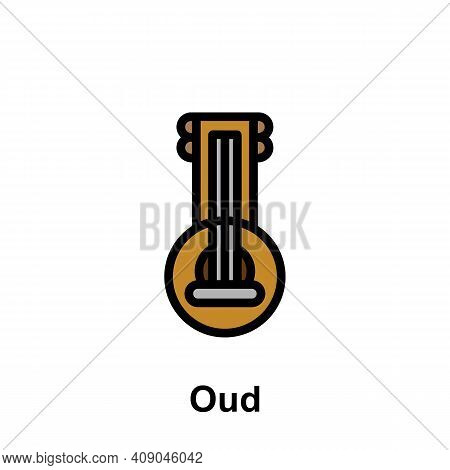 Ramadan Oud Outline Icon. Element Of Ramadan Day Illustration Icon. Signs And Symbols Can Be Used Fo