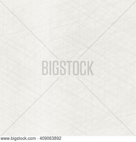 Abstract Seamless Pattern. Natural Cloth Texture. Grey Woven Linen Texture Background. Organic Fibre