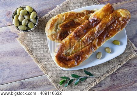 Burek With Meat - A Popular National Dish In The Balkans