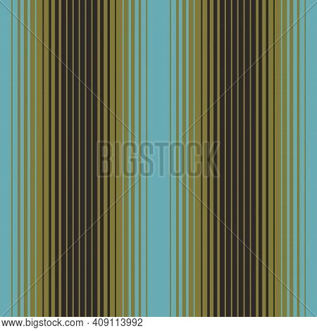 Ombre Vertical Stripe In Turquoise Olive Black