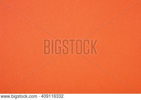 Plain Orange Background. Orange Cardboard. Orange Paper Texture Background. Abstract Geometric Flat