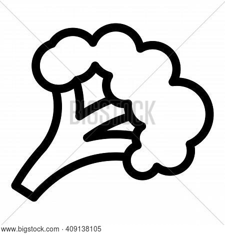 Harvest Broccoli Icon. Outline Harvest Broccoli Vector Icon For Web Design Isolated On White Backgro