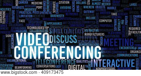 Video Conferencing Online as a Work From Home Concept