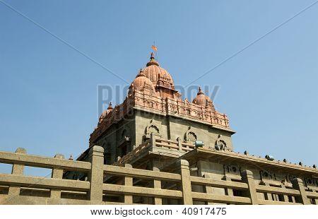Swami Vivekananda Memorial, Mandapam, Kanyakumari, Tamilnadu, India.