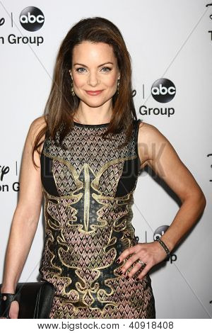 LOS ANGELES - JAN 10:  Kimberly Williams-Paisley attends the ABC TCA Winter 2013 Party at Langham Huntington Hotel on January 10, 2013 in Pasadena, CA