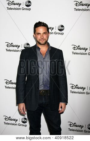 LOS ANGELES - JAN 10:  Brandon Barash attends the ABC TCA Winter 2013 Party at Langham Huntington Hotel on January 10, 2013 in Pasadena, CA