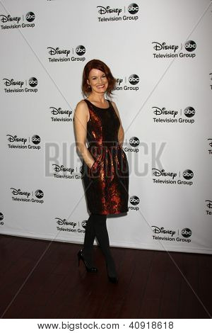 LOS ANGELES - JAN 10:  Laura Leighton attends the ABC TCA Winter 2013 Party at Langham Huntington Hotel on January 10, 2013 in Pasadena, CA