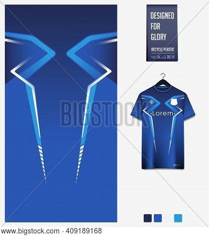 Fabric Textile Design For Sport T-shirt, Soccer Jersey, Football Kit, E-sport Gaming Shirt, Bicycle,
