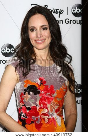 LOS ANGELES - JAN 10:  Madeleine Stowe attends the ABC TCA Winter 2013 Party at Langham Huntington Hotel on January 10, 2013 in Pasadena, CA