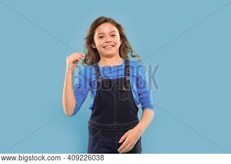 Funny Grimaces. Playful Teen Model. Acting Skills Concept. Tips And Tricks To Loosen Up In Front Of