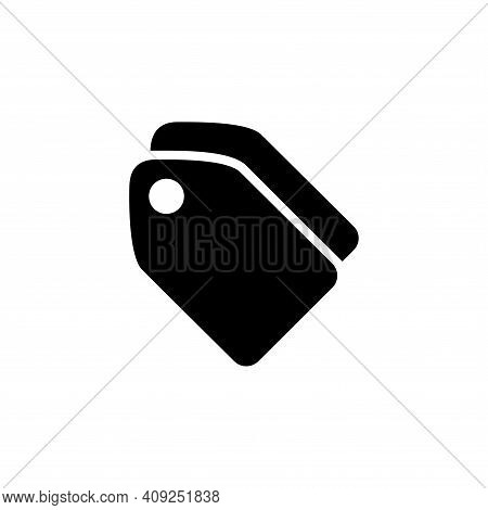 Tag Icon Vector. Tag Icon Vector Isolated On White Background. Tag Icon Vector Simple And Modern.