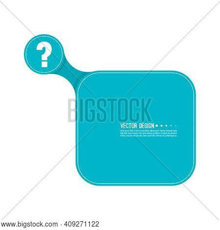 Question Mark Icon. Help Symbol. Faq Sign On White Background. Vector. Minimal, Outline. Quiz Symbol