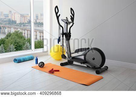 Elliptical Machine Cross Trainer And Fitness Equipment  Indoors