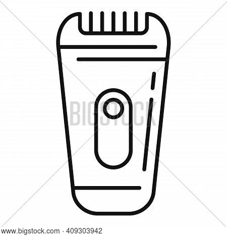 Cat Shaver Icon. Outline Cat Shaver Vector Icon For Web Design Isolated On White Background