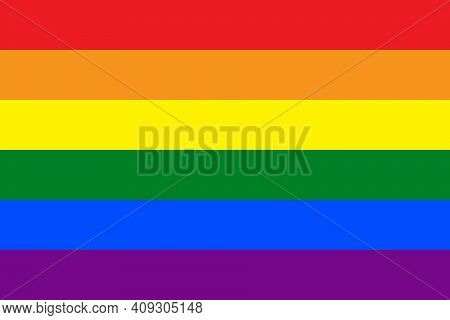 Rainbow, Lgbt Pride Flag Vector. Gay Vector Flag Or Lgbt. Lgbt Pride Flag Or Rainbow Pride Flag Incl