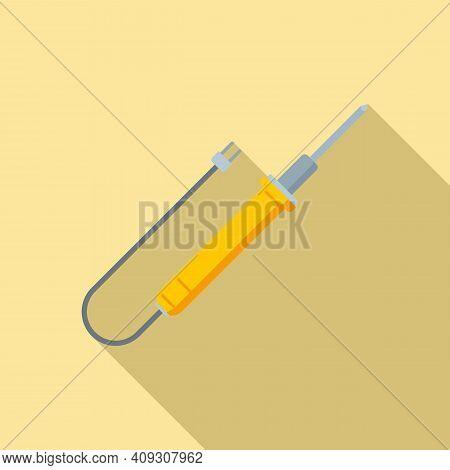 Soldering Radio Icon. Flat Illustration Of Soldering Radio Vector Icon For Web Design