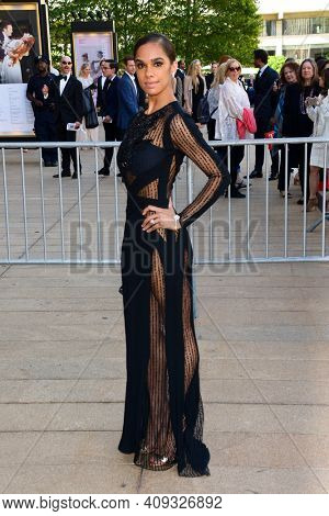 Dancer Misty Copeland attends the 2018 American Ballet Theatre Spring Gala at The Metropolitan Opera House on May 21, 2018 in New York City.