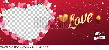 Love Vector Selling Banner,poster,flyer Vector Template Design