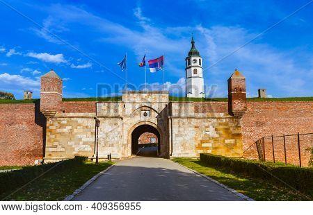 Kalemegdan fortress in Belgrade - Serbia - architecture travel background