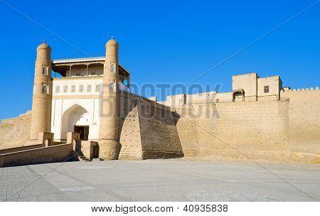 alten muslimischen architektonischen Komplex Ark Festung