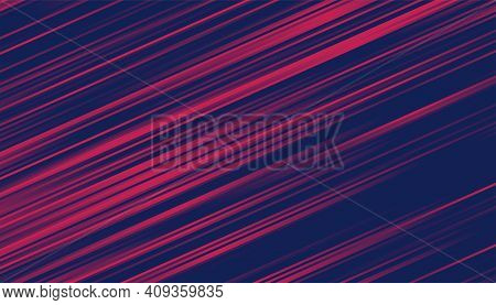 Abstract Duotone Background With Motion Lines Effect