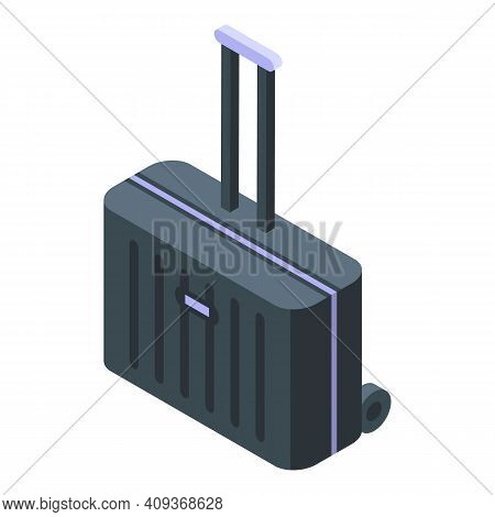 Trip Luggage Icon. Isometric Of Trip Luggage Vector Icon For Web Design Isolated On White Background