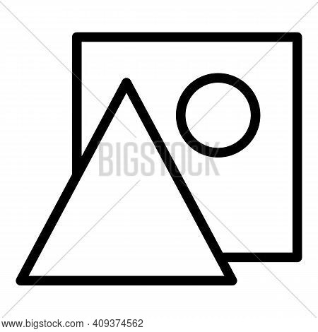 Redesign Icon. Outline Redesign Vector Icon For Web Design Isolated On White Background
