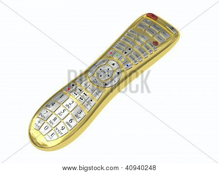 Golden Multi-function Remote Control