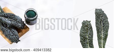 Brassica Oleracea Var - Tuscan Black Kale Green Smoothie