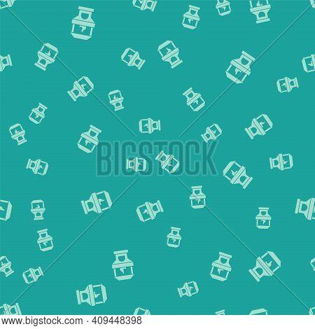 White Brick Stove Icon Isolated On Grey Background. Brick Fireplace, Masonry Stove, Stone Oven Icon.