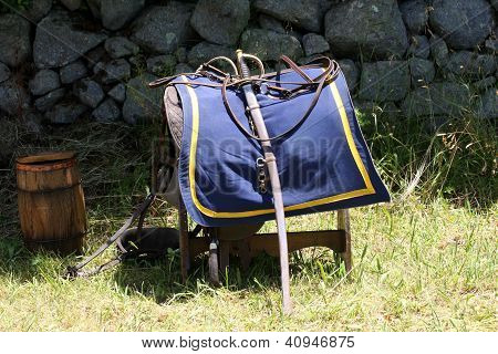 Cavalry Saddle