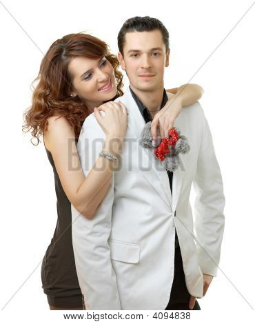 Young Attractive Happy Smiling Couple
