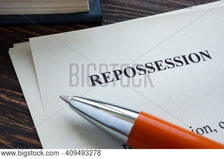 Info About Repossession On The Piece Of Paper.