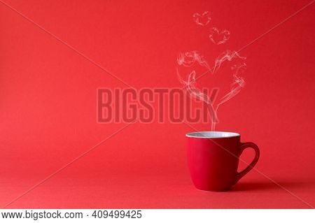 Masala Tea. A Cup Of Traditional Indian Tea Masala Tea With Ingredients To Prepare. Cinnamon, Anise,