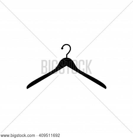 Hanger Icon Vector. Hanger Icon Isolated On White Background. Hanger Icon Simple And Modern.