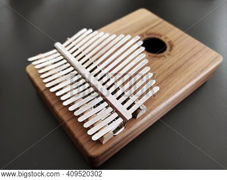 Close Up Kalimba Musical Instrument, African Musical Instrument Kalimba,