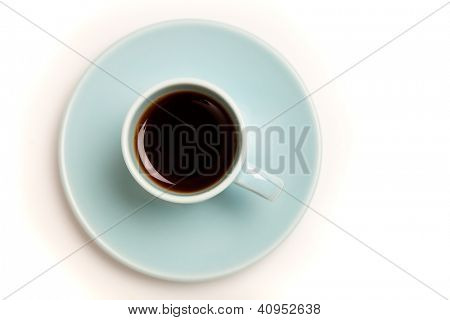Cup of Coffee  / Cup of black Coffee / Cup of black espresso in Demitasse