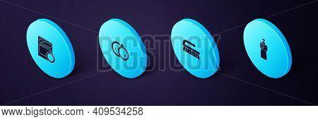Set Isometric Dishwashing Liquid Bottle, Brush For Cleaning, Washing Dishes And Kitchen Dishwasher M