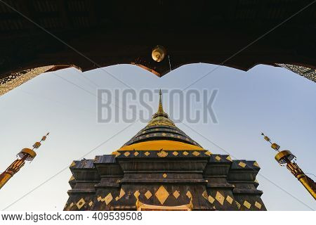 Wat Phra That Lampang Luang An Important Annual Birth Temple Lanna Style Buddhist In The North Thail