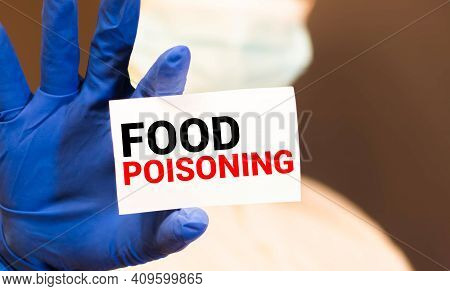 Handwriting Text Food Poisoning.