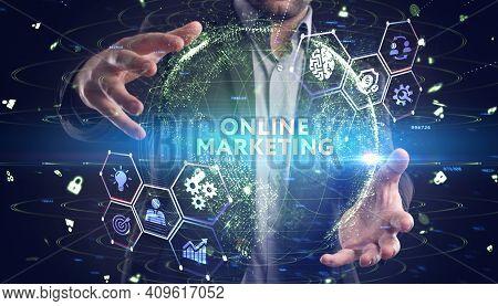 Digital Marketing Technology Solution For Online Business Concept. Business, Technology, Internet An