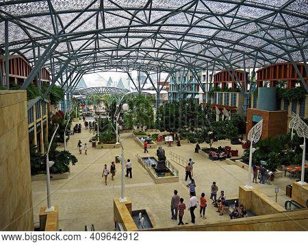 Singapore - 02 Mar 2012: The Holiday Park On Sentosa Island, Singapore