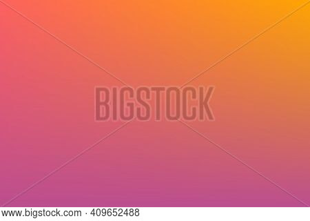 Abstract Background With Smooth Gradient Purple, Pink, Orange, Yellow Color Twilight Time. For Wallp