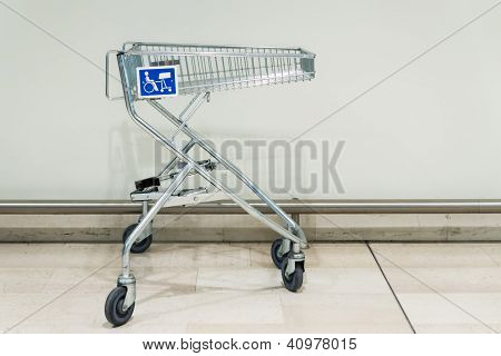 shopping trolley for disabled